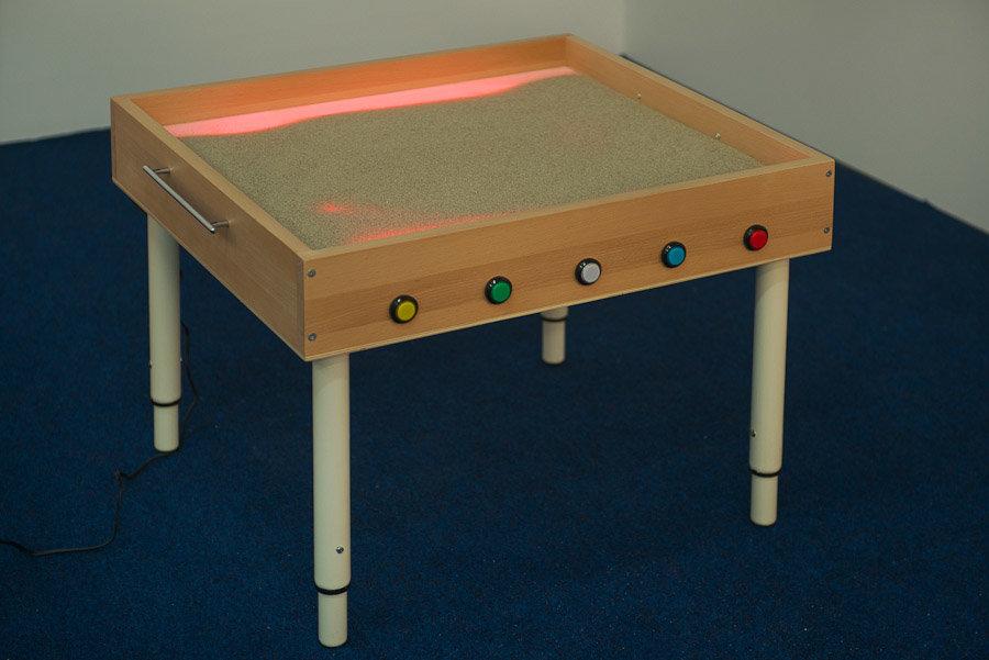 Световой стол для рисования песком своими руками фото